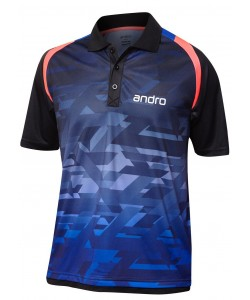 Andro Shirt Murphy blue/black