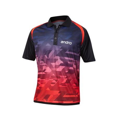 Andro Shirt Murphy red/black