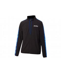 Andro T- Jacket Lennox black/blue