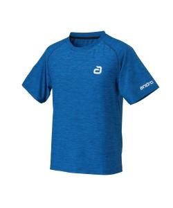 Andro T-Shirt Alpha Melange blue