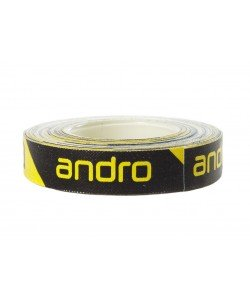 Andro Edge Tape CI 12mm/5m Black/yellow