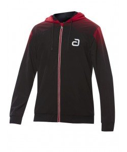 Andro T- Jacket Salivan black/red
