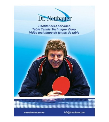 DVD Dr.Neubauer Table Tennis Technique