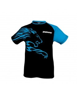 Donic T-shirt Lion black/cyan