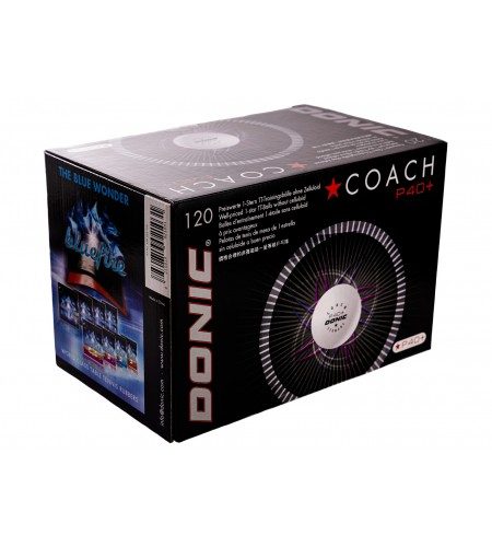 Donic P40+ 1* Coach (seam) 120pcs
