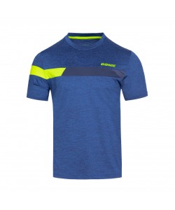 Donic T-Shirt Stunner royal blue/yellow