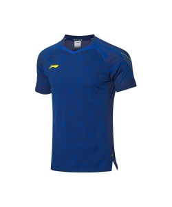 Li-Ning T-Shirt National Team AAYQ055-1 blue