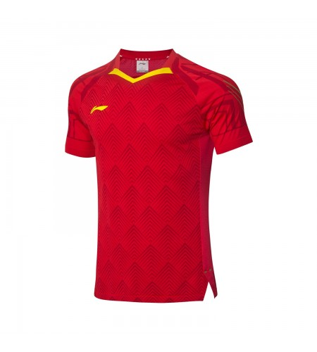 Li-Ning T-Shirt National Team AAYQ055-3 red