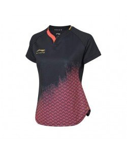 Li-Ning Women's T-Shirt National Team AAYP072-1 black