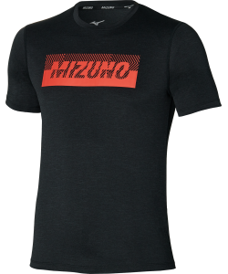 Mizuno T-shirt Core Graphic Tee black
