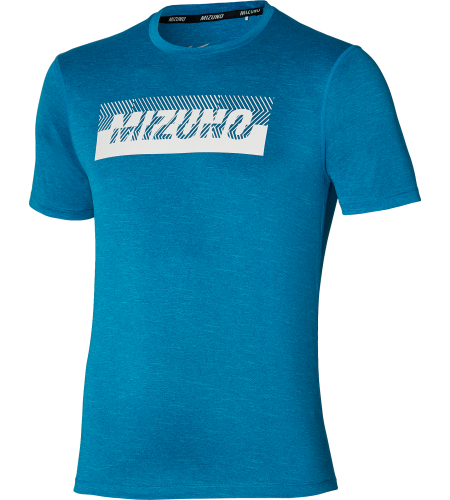 Mizuno T-shirt Core Graphic Tee mykonos blue