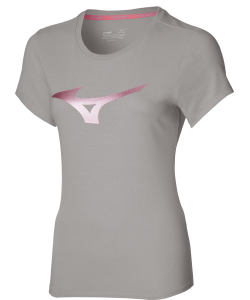 Mizuno T-shirt Lady Athletic RB Tee grey melange