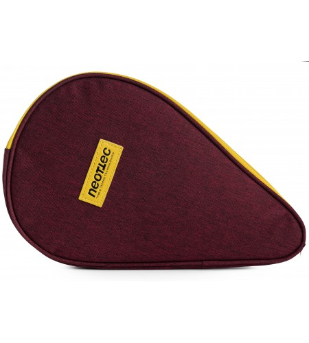 Neottec Racket cover Game 2T bordeaux/yellow