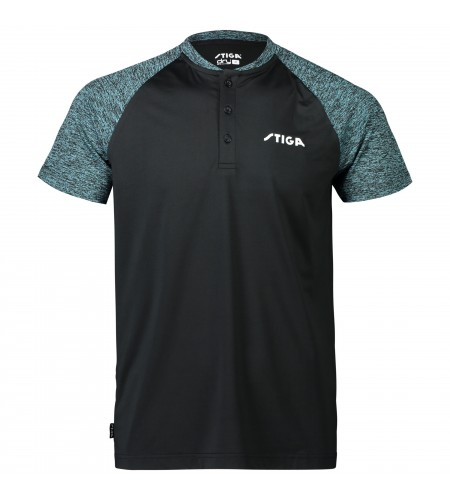 Stiga Shirt Team black/green