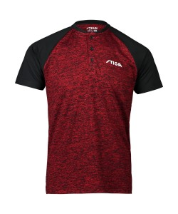 Stiga Shirt Team red/black