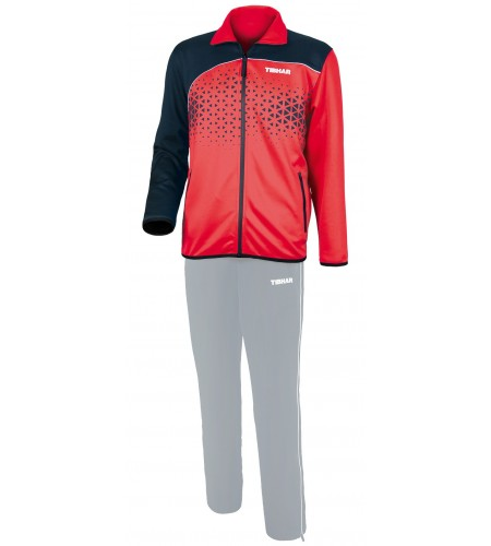 Tibhar Tracksuit jacket Game red/navy