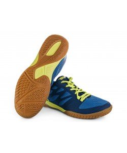 Tibhar Shoes Spider blue/neon yellow